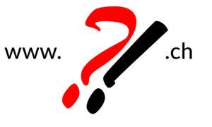 Wunsch Domain mit fragezeichen symbolisiert